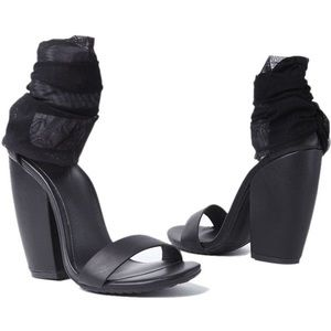 UNIF Pyre Heels | Unif Clothing | Wrap Mesh Heels